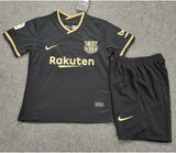 Kids/Youth Barcelona Away Premium Jersey & Shorts 2020/21