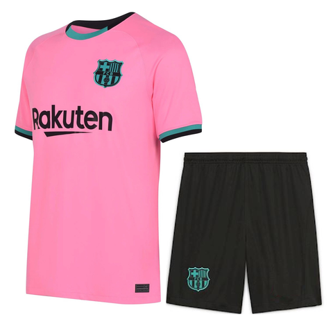 Kids/Youth Barcelona 3rd Premium Jersey & Shorts 2020/21