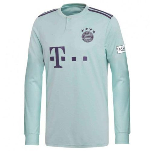 Original Bayern Munich Away Full Sleeves Jersey 2018-19 [Superior Quality]