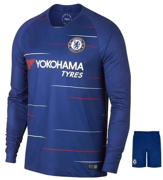 Original Chelsea Full Sleeve Premium Home Jersey 2018-19