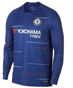 Original Chelsea Home Full Sleeve Champions League Edition Jersey 2018-19 [Superior Quality]