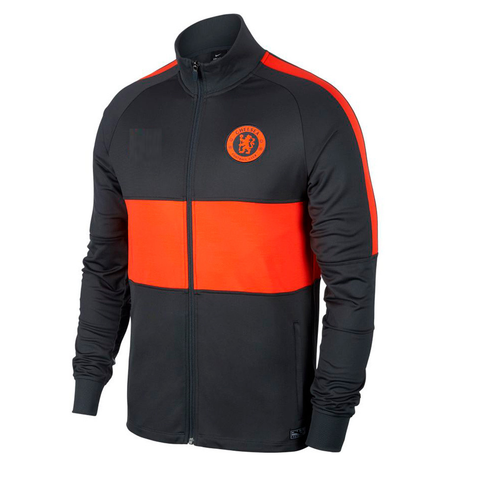 Original Chelsea Premium Anthem Jacket Grey & Orange 2019/20