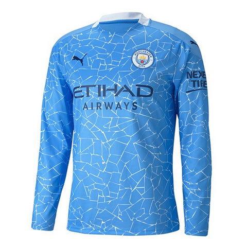 Manchester City Home Full Sleeves Jersey 2020/21 [Premium Quality]