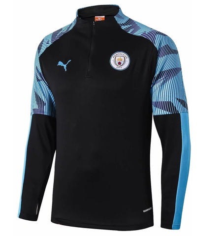 Original Manchester City Premium Training Track Upper Blue 2019/20
