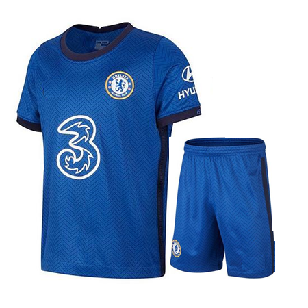 Kids/Youth Chelsea Home Premium Jersey & Shorts 2020/21