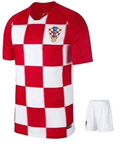Original Croatia Premium Home Jersey & World Cup 2018
