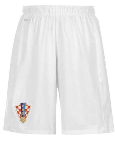 Original Croatia Premium Home Shorts World Cup 2018