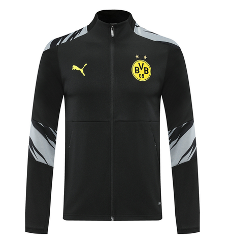Dortmund Away Black Jacket 2020/21