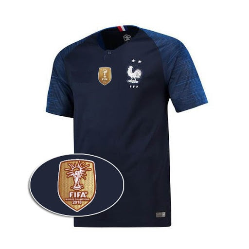 Original France International Home Jersey World Cup Winners 2 Star [Superior Quality]