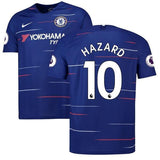 Original Eden Hazard Chelsea Champions League Edition Home Jersey 2018-19 [Superior Quality]