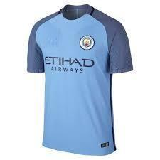 Manchester City Football Jersey & Shorts Champions League edition