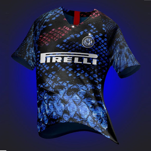 Rare Original Inter Milan 4th Digital EA Sports Edition Jersey 2019 [Superior Quality]