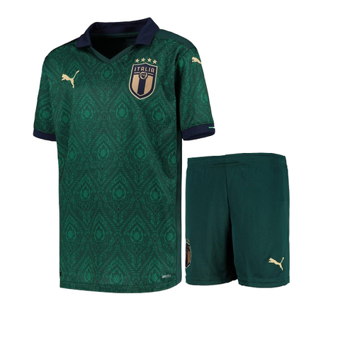 Kids/Youth Italy International Premium 3rd Jersey & Shorts 2020/21