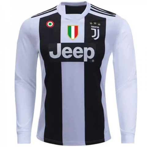 Original Juventus Full Sleeves UCL Edition Home Jersey 2018-19 [Superior Quality]