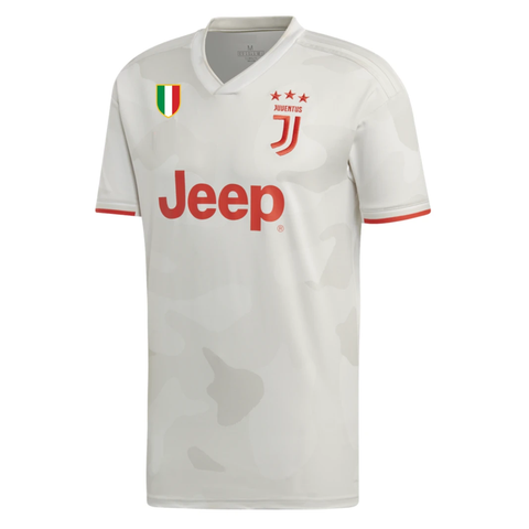Original Juventus Away Jersey [With Italia Logo] 2019/20 [Superior Quality]