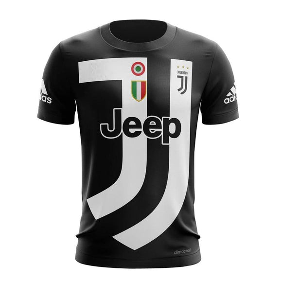 Rare Original Juventus 4th Digital Kit Black EA Sports Edition 2019 [Superior Quality]