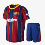 Kids/Youth Barcelona Home Premium Jersey & Shorts 2020/21