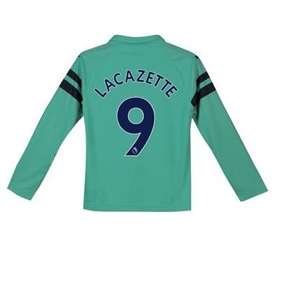 Original Lacazette ARSNL 3rd Full Sleeve Premium  Jersey and Shorts [Optional] 2018-19