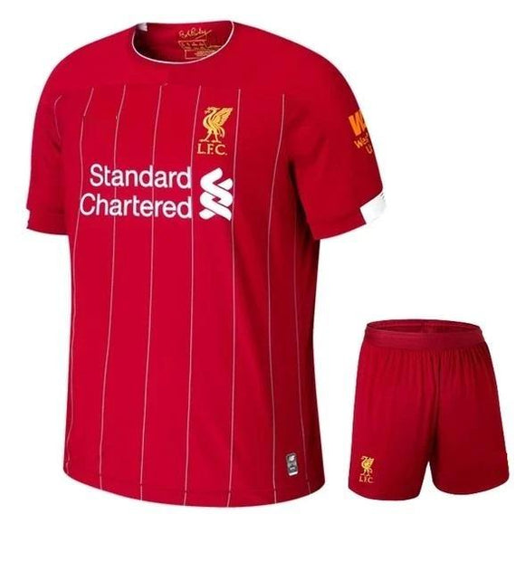 Kids/Youth Original Liverpool Home Premium Home Jersey & Shorts 2019/20