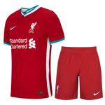 Kids/Youth Liverpool Home Premium Jersey & Shorts 2020/21