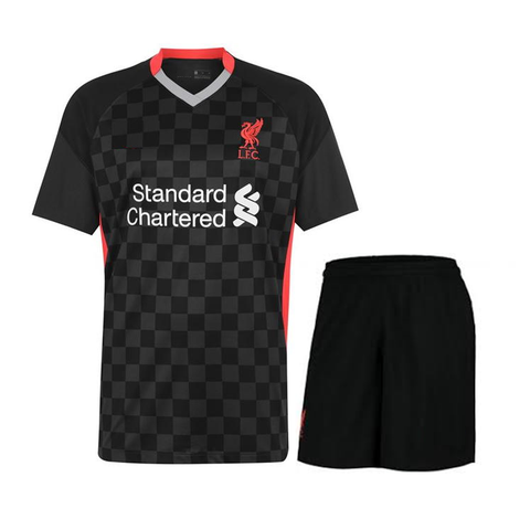 Kids/Youth Liverpool 3rd Premium Jersey & Shorts 2020/21