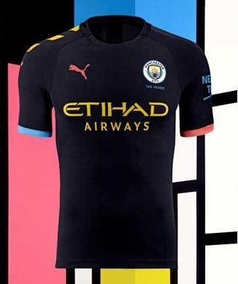 Original Manchester City Away Jersey 2019/20 [Superior Quality]