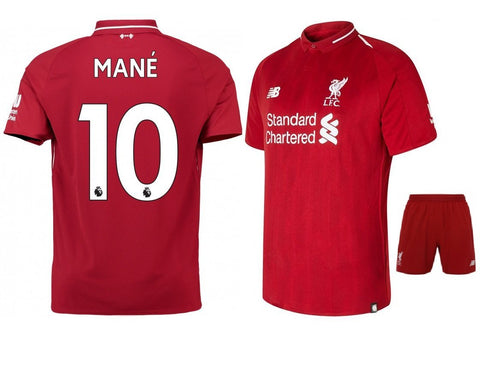 Original Mane' Liverpool Premium Home Jersey & Shorts [Optional] 2018-19