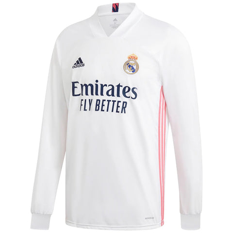 Real Madrid Home Full Sleeve Jersey 2020/21 [Superior Quality]