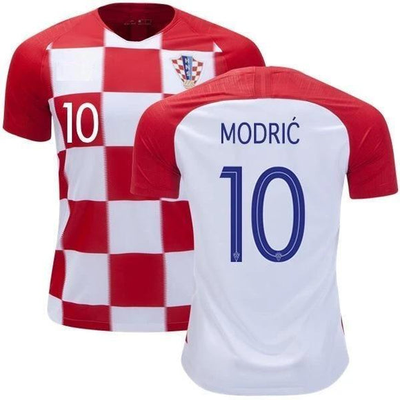 Original Modric Croatia Home Jersey World Cup 2018 [Superior Quality]