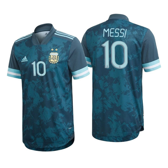 Original Messi Argentina International Away Jersey 2020 [Superior Quality]