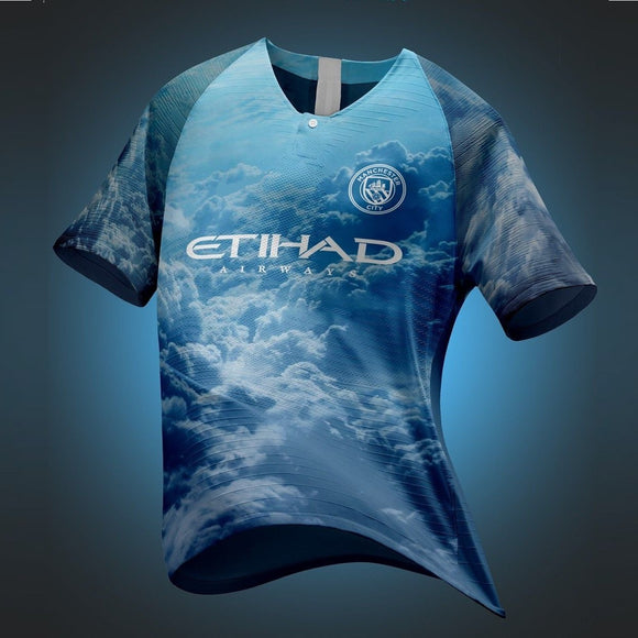 Rare Original Manchester City Digital 4th Kit EA Sports Edition Jersey 2019 [Superior Quality]