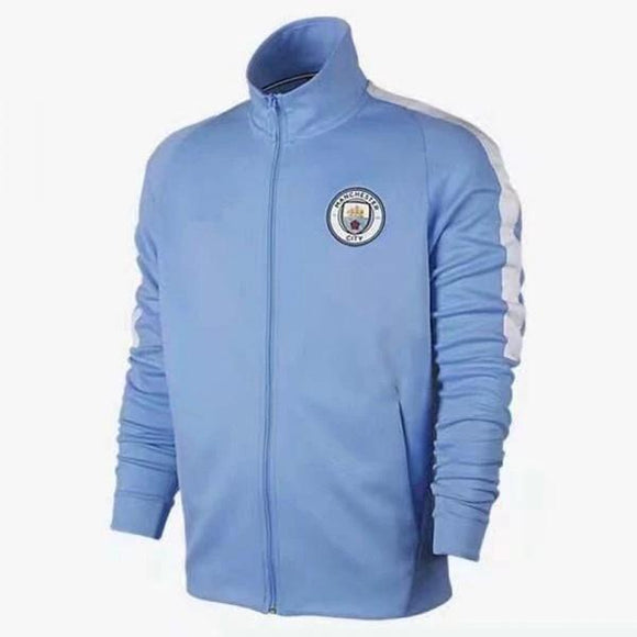 Original Manchester City Premium Home Anthem Jacket 2017 18