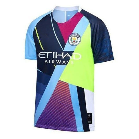 Rare Original Manchester City Multikit EA Sports Edition Jersey 2019 [Superior Quality]