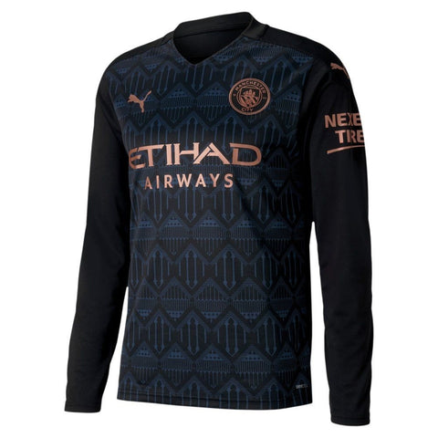 Manchester City Away Full Sleeves Jersey 2020/21 [Premium Quality]