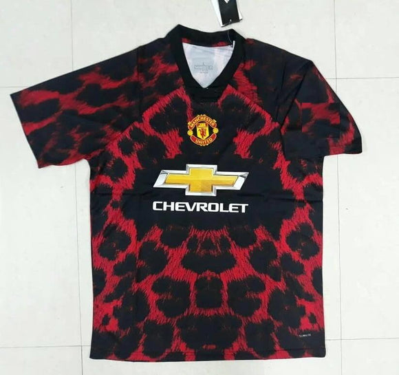 Rare Original Manchester United Digital EA Sports Edition Red Jersey 2019 [Superior Quality]