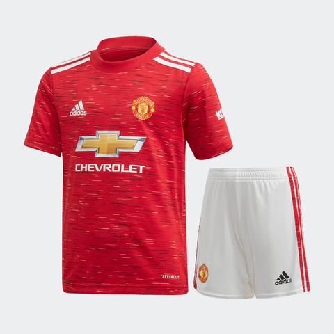 Kids/Youth Manchester United Home Premium Jersey & Shorts 2020/21