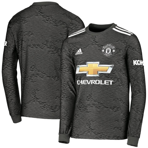 Manchester United Away Full Sleeve Jersey 2020/21 [Superior Quality]
