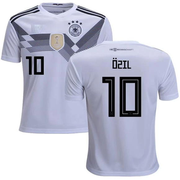 Original Ozil Germany Premium Home Jersey & Shorts World Cup 2018