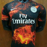 Rare Original PSG 4th Digital Kit Black EA Sports Edition 2019 [Superior Quality]