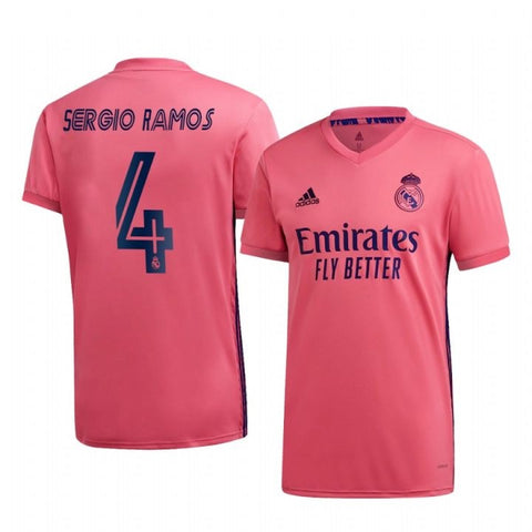 Real Madrid Sergio Ramos Away Jersey 2020/21 [Superior Quality]