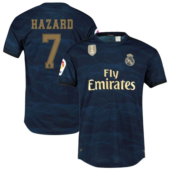 Original Hazard Real Madrid Away Jersey 2019/20 [Superior Quality]