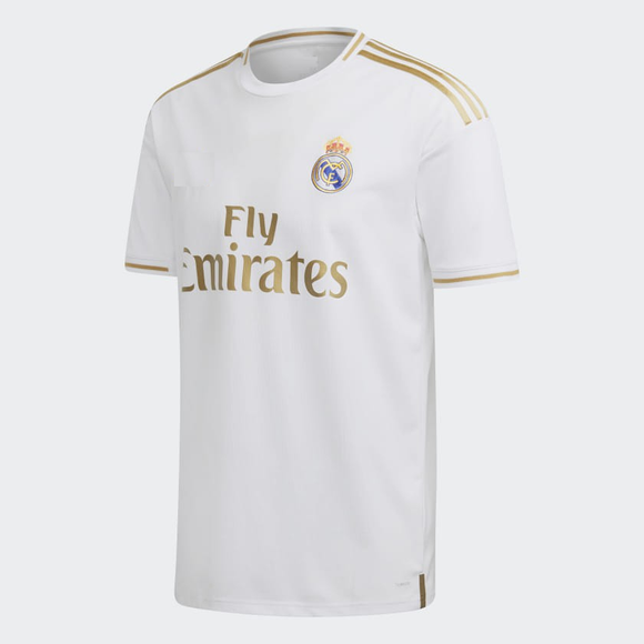 Original Real Madrid Home Jersey 2019/20 La liga Logo [Superior Quality]
