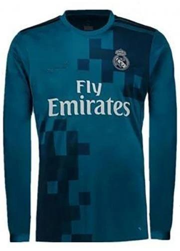 Original Real Madrid Full sleeve Premium 3rd Jersey 2017-18