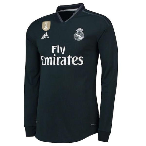 Original Real Madrid Away Full Sleeve Jersey 2018-19 [Superior Quality]