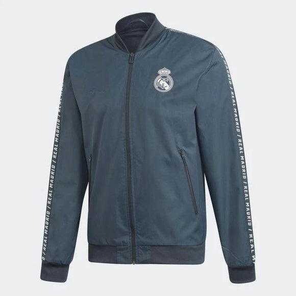 Original Real Madrid Premium Anthem Grey Jacket 2019/20