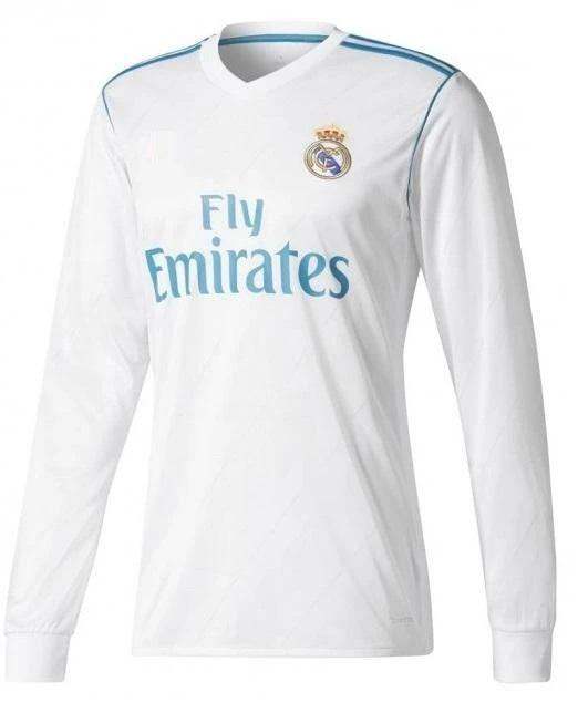Original Real Madrid Premium Full Sleeve Home Jersey 2017-18
