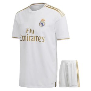 Kids/Youth Original Real Madrid Home Premium Home Jersey & Shorts 2019/20