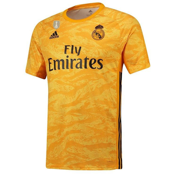 Original Real Madrid Yellow Home GoalKeeper Jersey 2019/20 [Superior Quality]