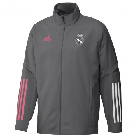 Real Madrid Away Grey Jacket 2020/21