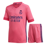 Kids/Youth Real Madrid Away Premium Jersey & Shorts 2020/21